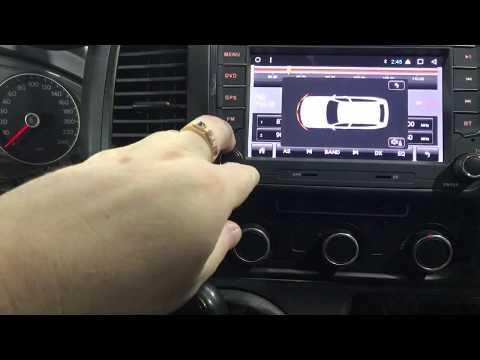 Volkswagen Multivan установка (замена) магнитолы с подключением камеры заднего вида