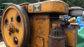 getlinkyoutube.com-Old Engines in Japan 1950s YANMAR DIESEL Type N18 18ps