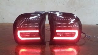 getlinkyoutube.com-PEUGEOT 504 TAIL LIGHTS