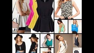getlinkyoutube.com-☆ BLUSAS DE MODA ☆ ¡¡Look fiesta y casual!!