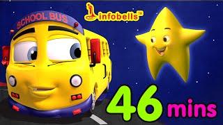 getlinkyoutube.com-Top 25 Nursery Rhymes | Wheels on the Bus and more kids songs