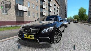 getlinkyoutube.com-City Car Driving 1.4.1 Mercedes BRABUS E900 W212 [Logitech G27]