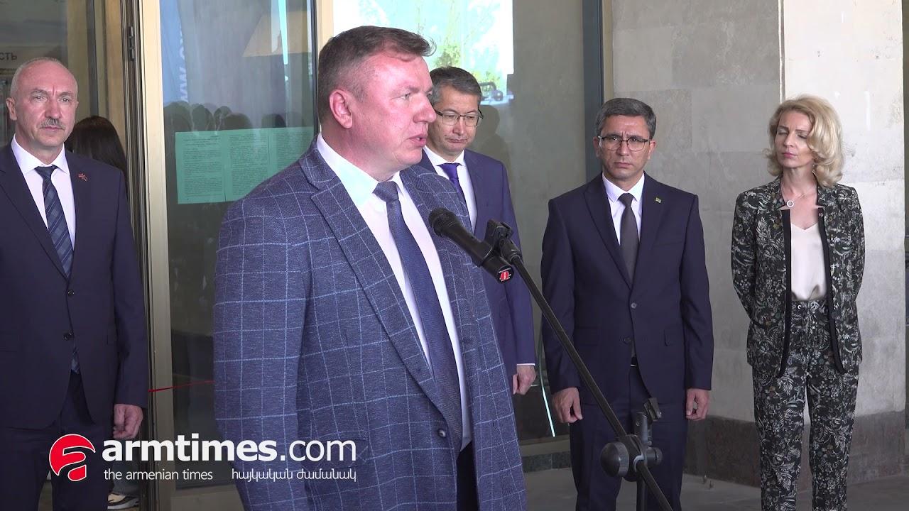 Մեկնարկեց «ARMENIA EXPO 2021» 20-րդ միջազգային ունիվերսալ առևտրաարդյունաբերական ցուցահանդեսը