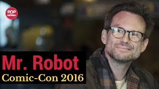 SDCC 2016: Christian Slater de Mr. Robot