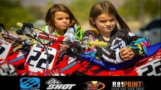 getlinkyoutube.com-Motocross Kids Rippin On Dirt Bikes (part 3)