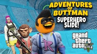 getlinkyoutube.com-Adventures of Buttman #14: Superhero Slide!