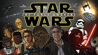 getlinkyoutube.com-Star Wars The Force Awakens Trailer Spoof - TOON SANDWICH