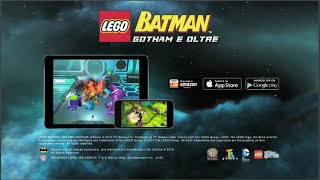 Lego Bartman Gotham e Oltre il gioco per iPhone iPad e Android