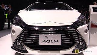 getlinkyoutube.com-2016 Toyota Aqua G Sports - Exterior and Interior Walkaround - 2015 Tokyo Motor Show