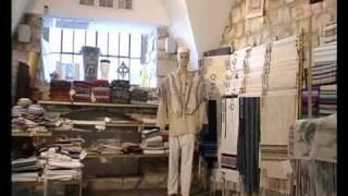 getlinkyoutube.com-Canaan Gallery - Traditional talit weaving studio in Safed