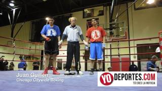 Juan Guillen Chicago Citywide Boxing 2014