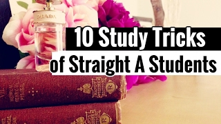 10 Study Tricks of Straight A Students // Study like a Boss