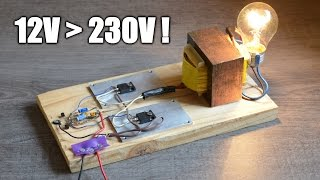 getlinkyoutube.com-Fabriquer un onduleur - Make an inverter