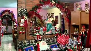 La Casa Navideña: familia Restrepo ganadora del primer puesto