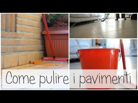 Come lavare correttamente il pavimento di casa tutto per for Costo per livellare il pavimento in casa