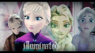 getlinkyoutube.com-❅ Jack & Elsa(+Rapunzel) - Illuminated(13+) [AU: Split Personality]
