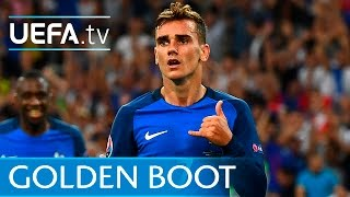 getlinkyoutube.com-Antoine Griezmann's UEFA EURO 2016 goals: Watch all six strikes