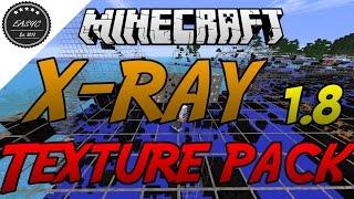 getlinkyoutube.com-X-RAY Texture Pack 1.8 - Minecraft