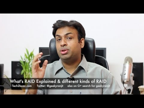 RAID Explained and different kinds of RAID