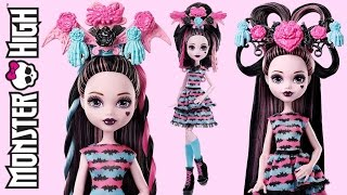 getlinkyoutube.com-Hair Party Draculaura Monster High Review
