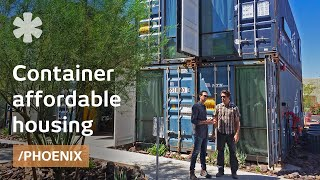 getlinkyoutube.com-How 16 containers became 8 market-rate Phoenix apartments