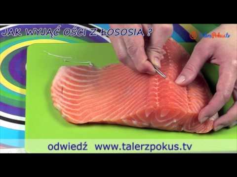 Jak wyjąć ości z łososia?