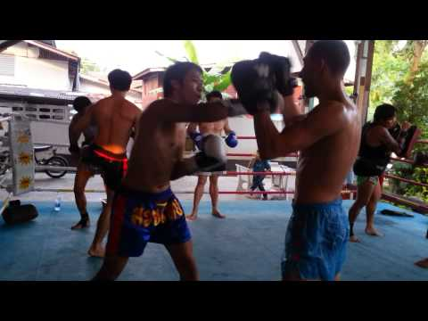 Muay Thai Training at Sor.Vorapin Gym 3