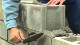 getlinkyoutube.com-Building a Concrete Block Foundation - Bob Vila