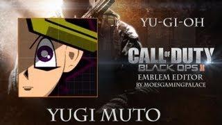 getlinkyoutube.com-Call Of Duty Black Ops 2 Emblem Editor (4): Yugi Muto (Yu-Gi-Oh)