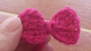 getlinkyoutube.com-¿Cómo hacer un Lazo a Crochet?