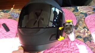 getlinkyoutube.com-Sony Action Cam Helmet Mount