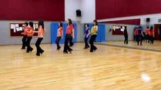 getlinkyoutube.com-My First Love - Line Dance (Dance & Teach in English & 中文)