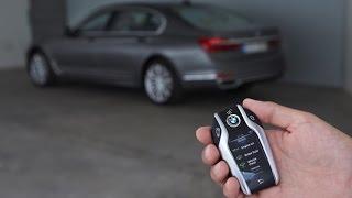 getlinkyoutube.com-How to self-park your BMW 7 Series