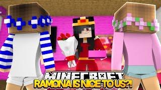 getlinkyoutube.com-Minecraft Royal Family : RAMONA IS NICE TO US?! w/LittleKellyandLittleCarly (Roleplay)