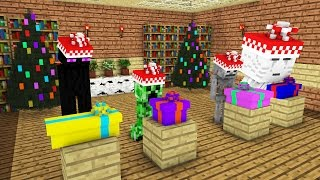 getlinkyoutube.com-Monster School: Christmas Presents -- Cubic Minecraft Animation