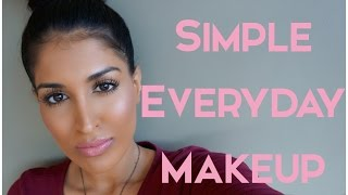 getlinkyoutube.com-Simple Everyday Make Up - Glowy + Natural