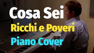 getlinkyoutube.com-Ricchi e Poveri -  Cosa Sei - Piano Cover