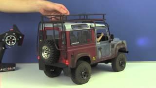 getlinkyoutube.com-RC4WD Gelände II 4x4 Truck Kit w/Defender D90 Body Set