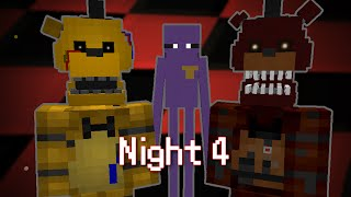 getlinkyoutube.com-MINE Nights at Freddy's 2 - FACTORY | Night 4 | FNAF Minecraft Roleplay