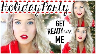 getlinkyoutube.com-Get Ready with Me: Holiday Party: Hair, Makeup & Outfit