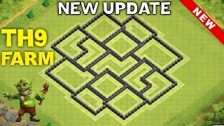 getlinkyoutube.com-TH9 HYBRID BASE FOR NEW UPDATE - TH11 DECEMBER UPDATE | Clash of Clans