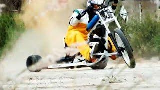 getlinkyoutube.com-Motor Drift Trike - Lekin / Trailer