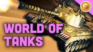 getlinkyoutube.com-THE MOST MENACING TANK! | World of Tanks Gameplay