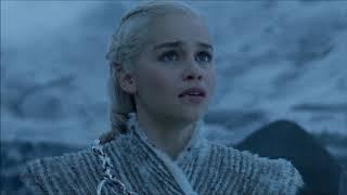 Daenerys Rides North To Save Jon Snow - Night King Shoots Down Viserion 7x06 width=