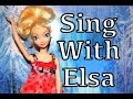 Frozen Songs Disney Elsa Sing Childrens Songs Princess Parody Music Video School Jasmine Barbie