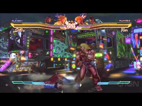 Street Fighter x Tekken: 4 Fighters Gameplay