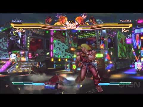 Street Fighter x Tekken: 4 Fighters Gameplay