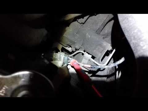 Замена датчика кислорода от змз 406 (5WK9100) на Mazda 626 fe3n