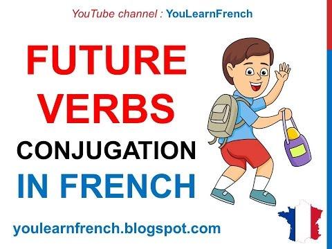 French Lesson 49 - Indicatif futur (Conjugate Verbs in the Indicative Future tense)
