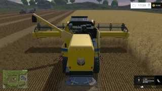 "getlinkyoutube.com-FARM SIM SATURDAY playing on a old ""farm""milliar map"